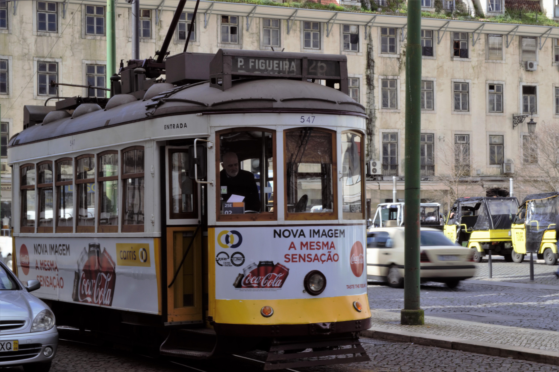tram, Lisbona, Portogallo, Capitale