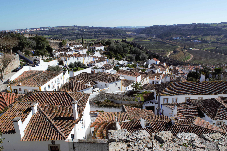 Estremadura, Città fortificata, Obidos