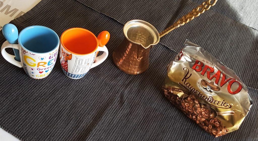 Il kit per fare il caffè