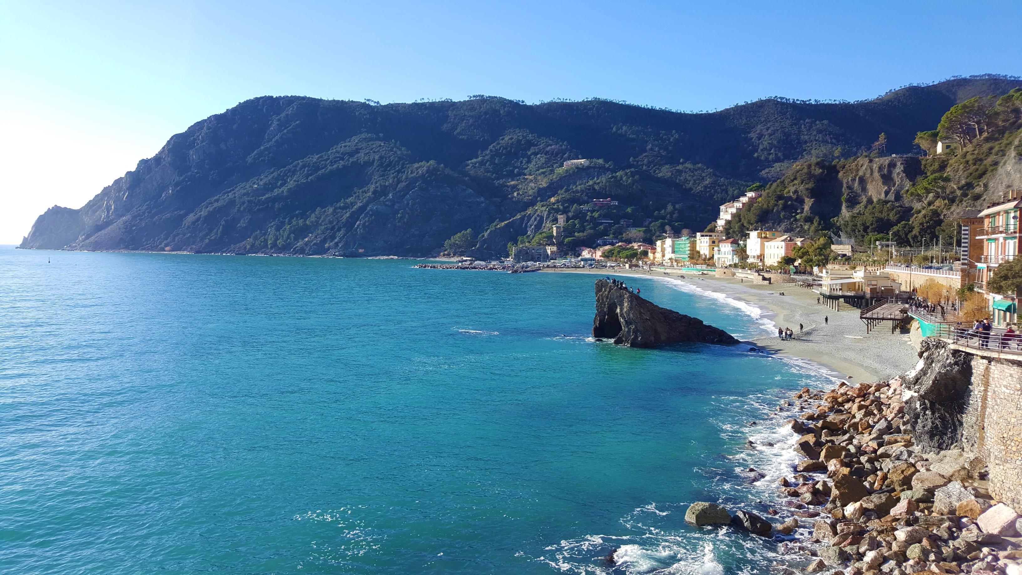 Monterosso al Mare, Spiaggia Fegina