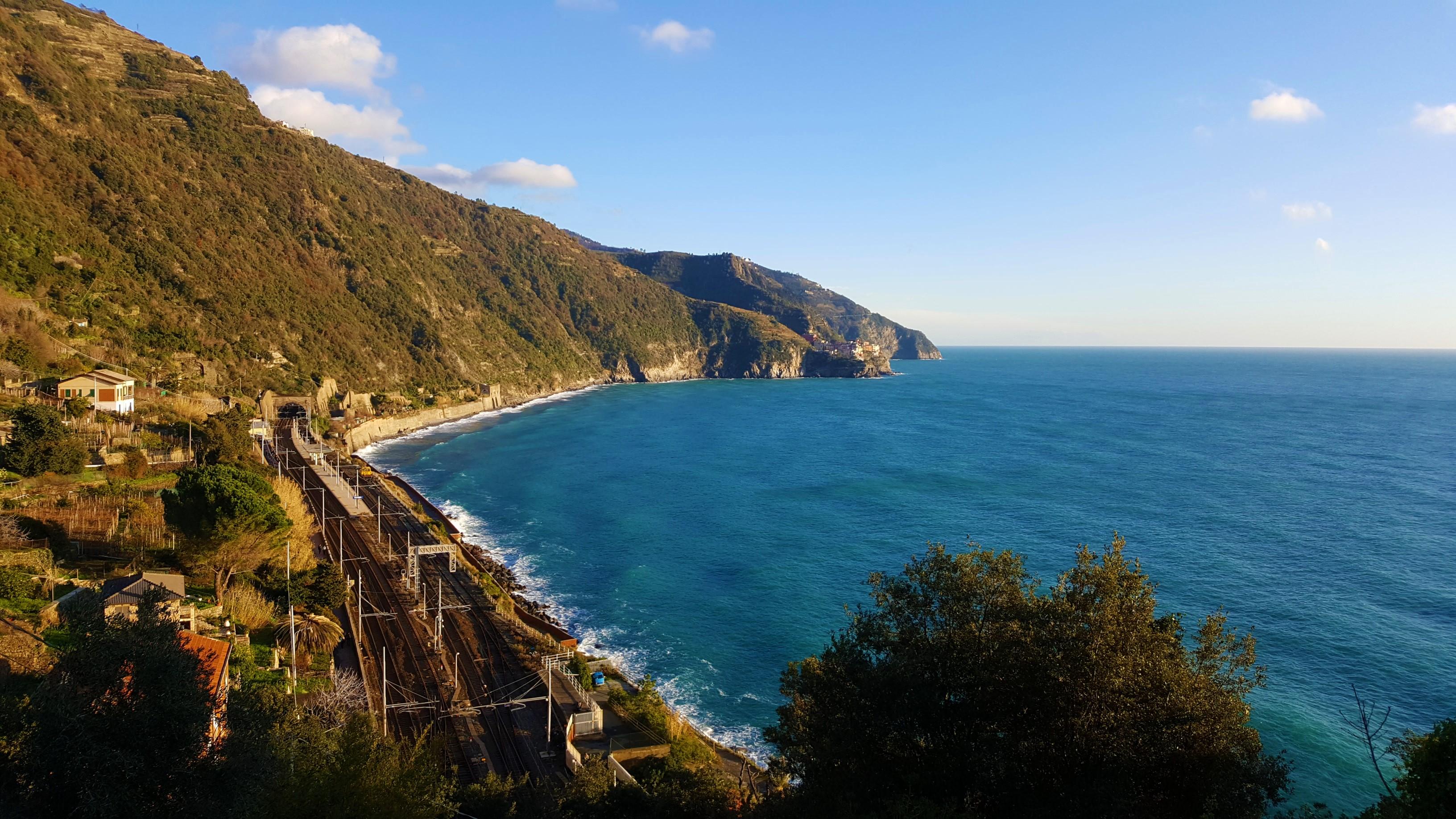 La ferrovia delle Cinque Terre